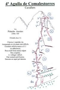 Reseña El Pistacho Asesino 240m 6a
